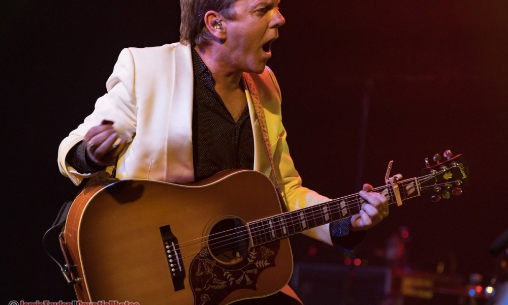 Canadian actor and musician Kiefer Sutherland performing at The Commodore Ballroom in Vancouver, BC on July 10th, 2019