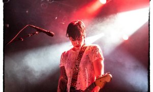 American punk rock band The Distillers performing at the Commodore Ballroom in Vancouver, BC on September 11th, 2019
