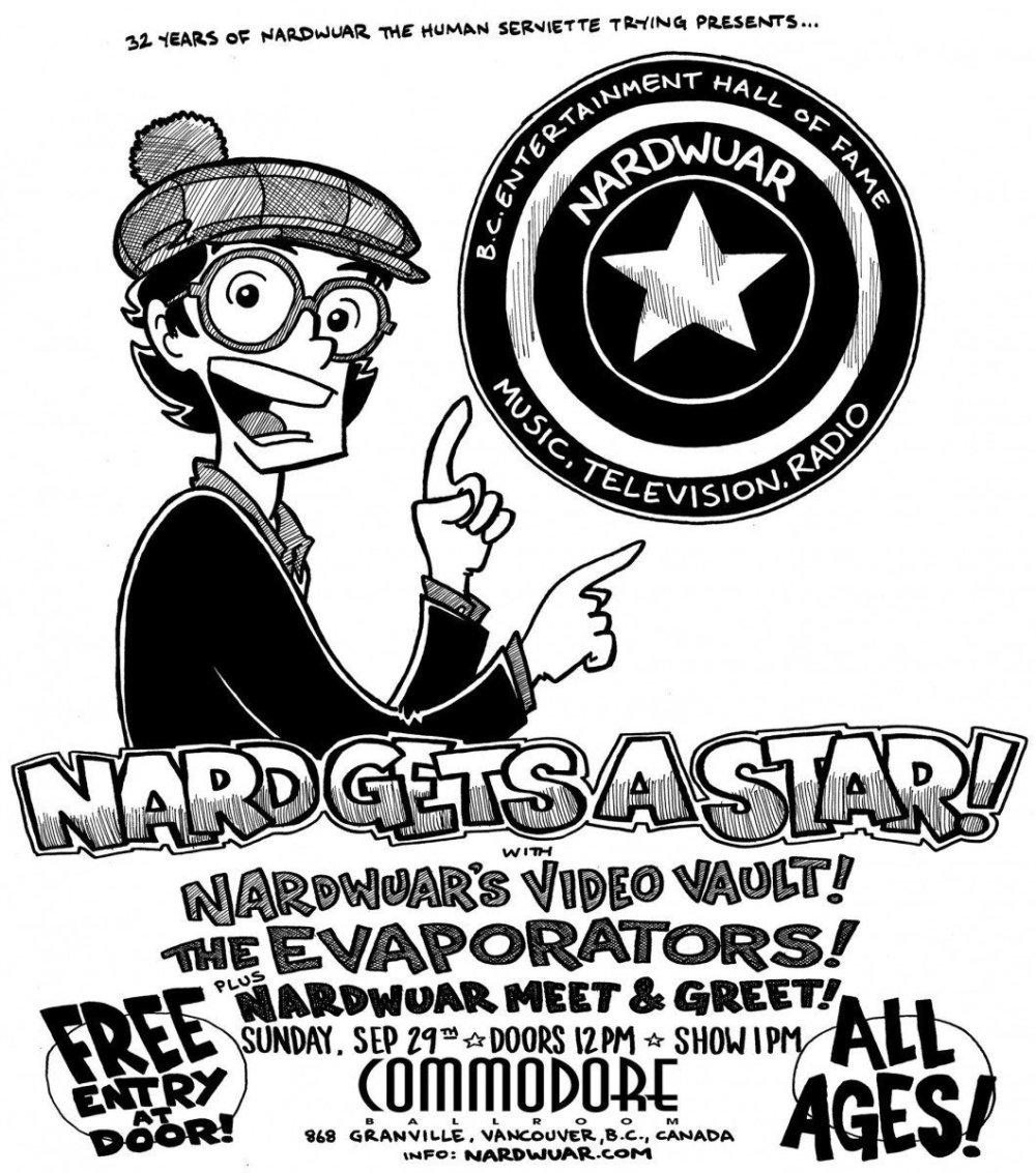 Nard Gets A Star! @ Commodore Ballroom 2019