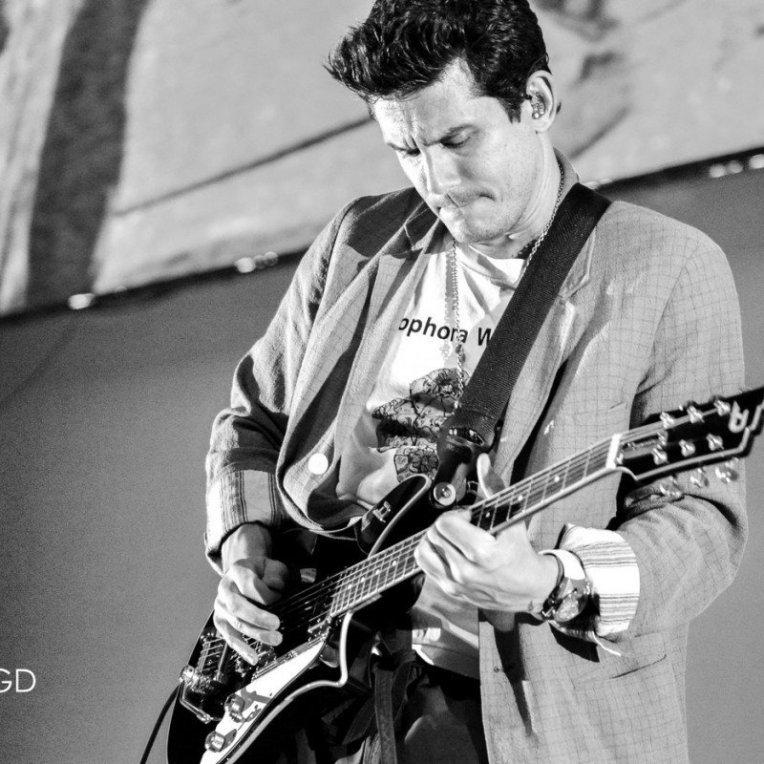 American musician John Mayer performing at Talking Stick Arena in Phoenxi, AZ on September 10th, 2019