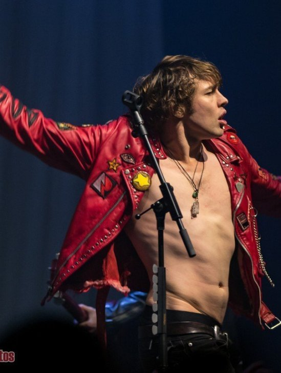 English musician Barns Courtney performing at the Imperial in Vancouver, BC on October 1st 2019