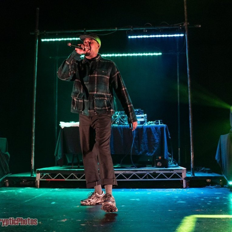 American rapper Danny Brown performing at The Vogue Theatre in Vancouver, BC on October 29th 2019