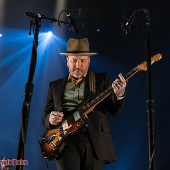 Photo gallery of Canadian musician City and Colour performing at Pacific Coliseum in Vancouver, BC on November 9th, 2019