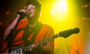 American singer Brittany Howard + Ludic performing at The Commodore Ballroom in Vancouver, BC on November 19th, 2019