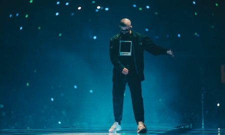 Photos of Puerto Rican Latin trap and reggaeton singer Bad Bunny at Freeman Coliseum in San Antonio, TX on November 9th, 2019 © Aaron Quintanilla
