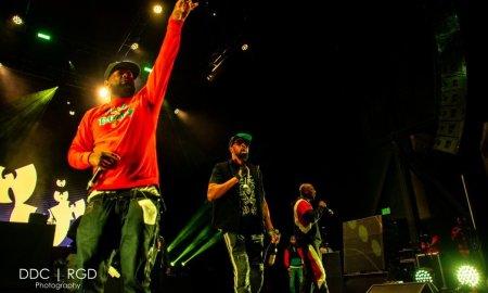 American rap group Wu-Tang Clan performing at Casino Del Sol in Tucson, AZ on Novembers 2nd, 2019