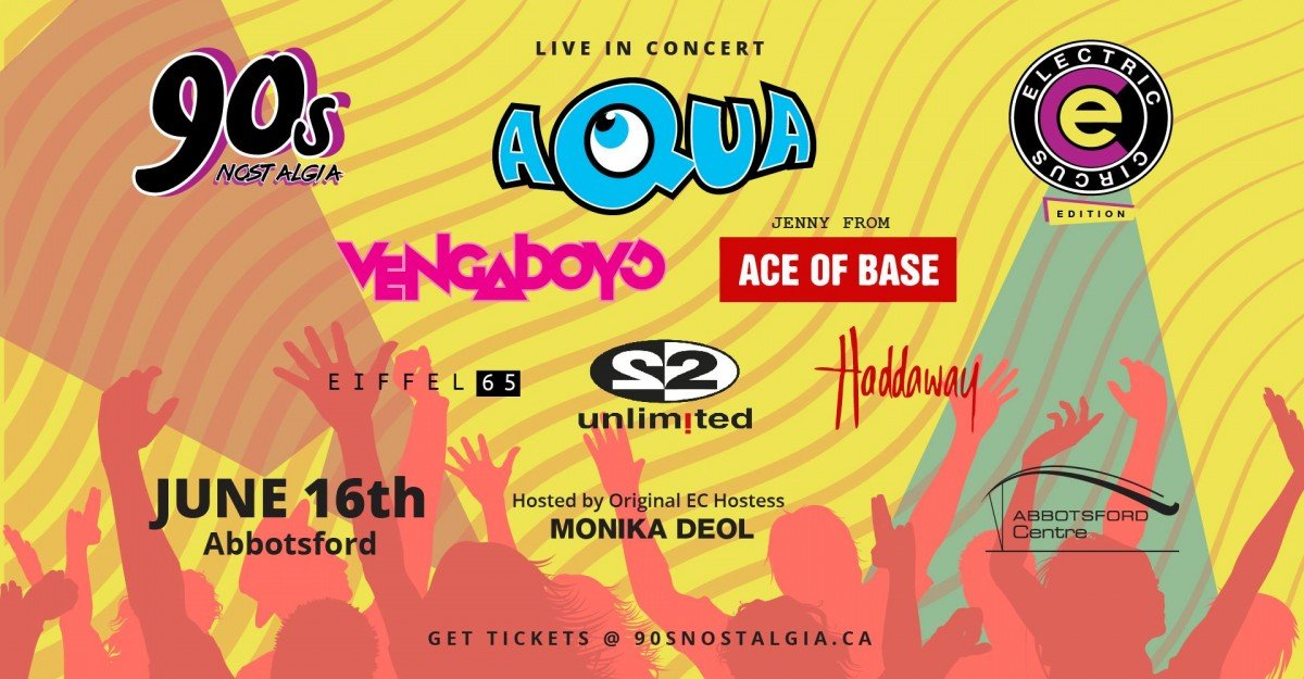 90's Nostalgia Electric Circus Edition ft. Aqua + Jenny from Ace Of Base + Vengaboys + Eiffel 65 + 2 Unlimited + Haddaway 2020