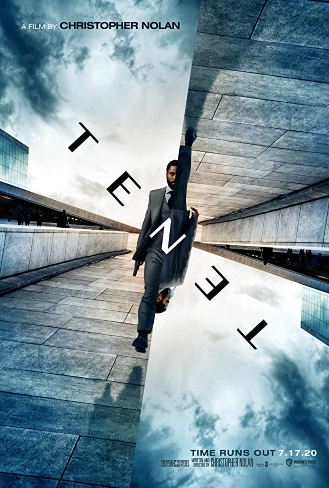 Tenet [2020] - Official movie poster