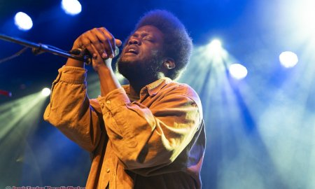 British singer-songwriter Michael Kiwanuka performing at The Commodore Ballroom in Vancouver, BC on January 28th, 2020.
