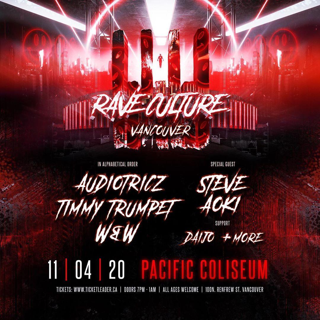 rave culture 2020 festival