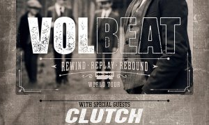 "Volbeat Announces 2020 ""Rewind, Replay, Rebound World Tour"""