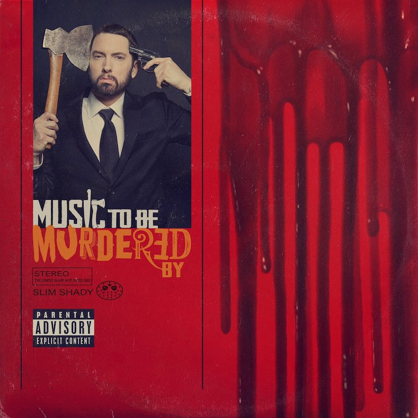 """Eminem's new album """"Music To Be Murdered By"""" cover art"""