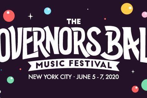 The Governors Ball Music Festival 2020 @ Randall's Island Park (New York, NY) title admat logo