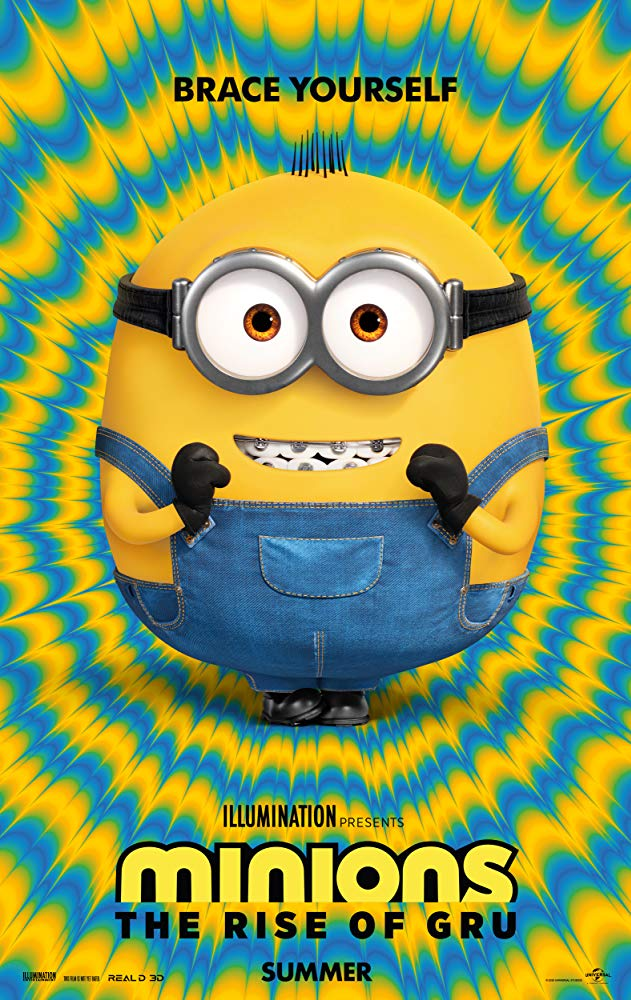 Minions: The Rise of Gru [2020] official movie poster