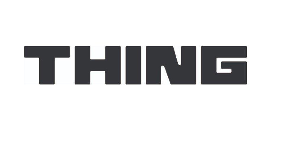 Thing music festival 2020 - port townsend, washington, title logo