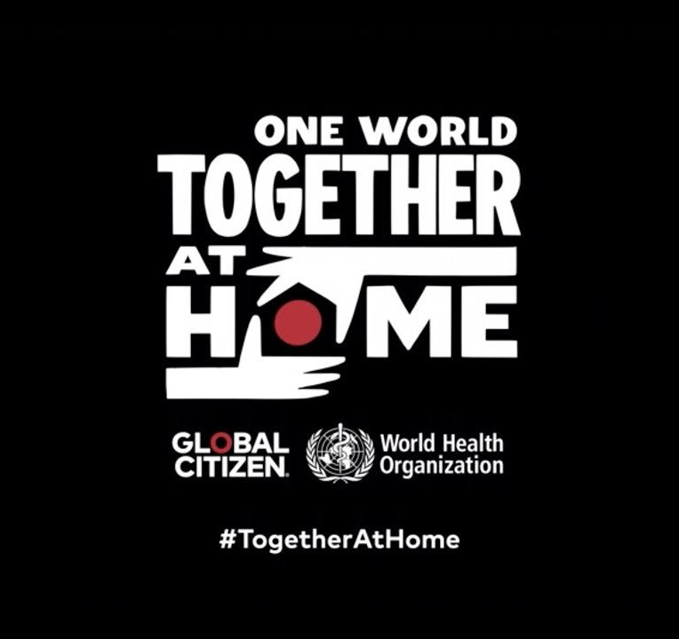 One World: Together At Home 2020 @ Globalcitizen.org