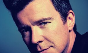 Rick Astley 2020 promotional image best of me cover art