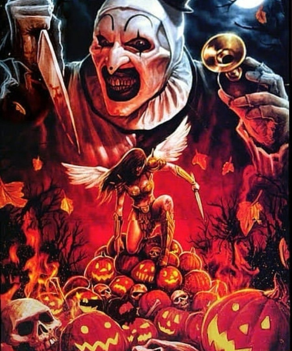 Terrifier 2 [2020] - Official movie poster cover admat