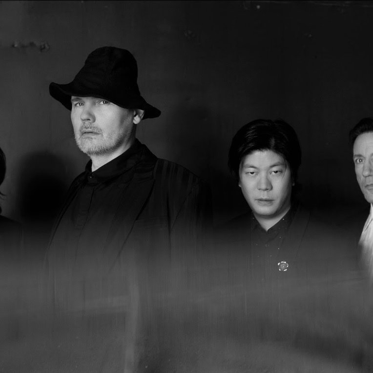 The Smashing Pumpkins 2020 promotional image photo group