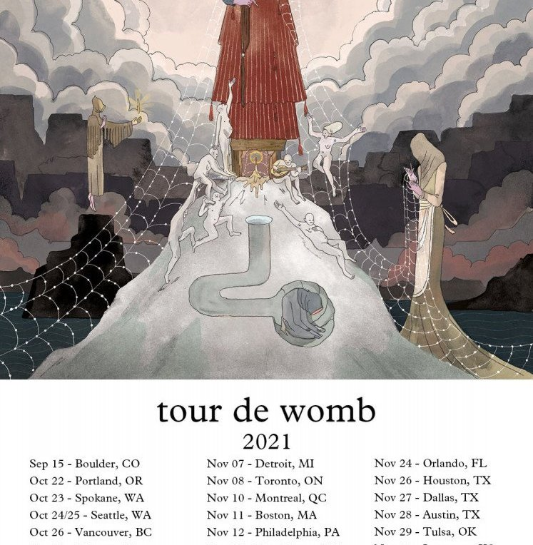purity ring tour de womb dates poster admat banner 2021