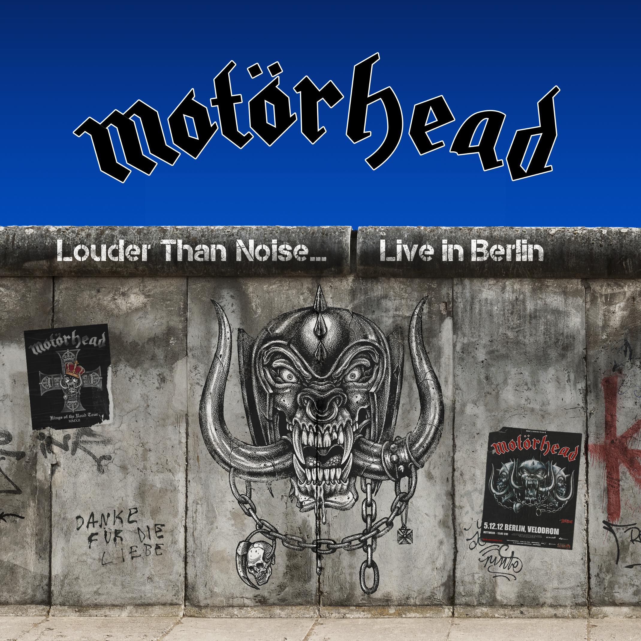 motorhead louder than noise live in berlin 2012 cover art 2021