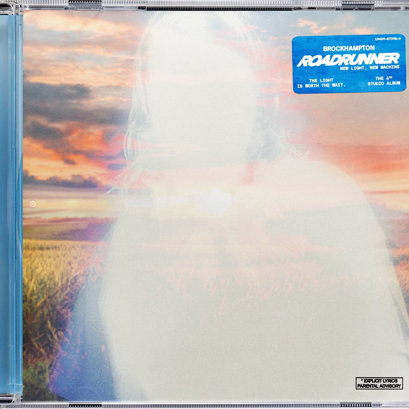 BROCKHAMPTON 2021 NEW ALBUM ROADRUNNER: NEW LIGHT, NEW MACHINE cover art