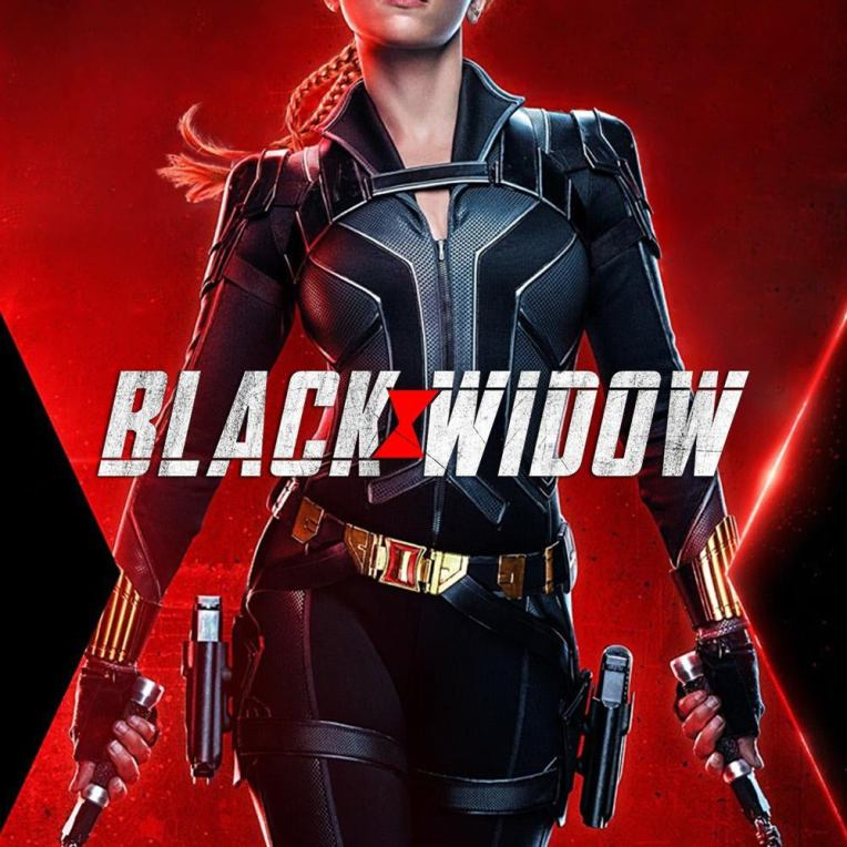 black widow 2021 movie cover art poster