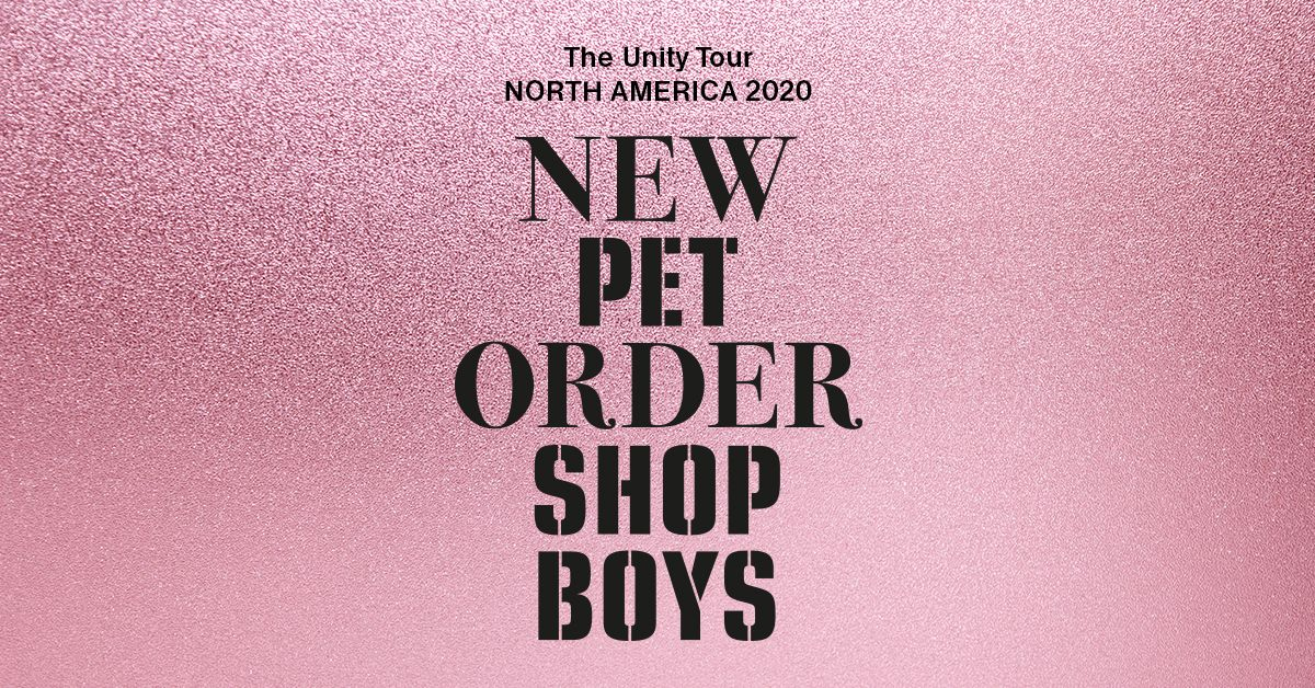 """Pet Shop Boys And New Order 2022 """"The Unity Tour"""""""