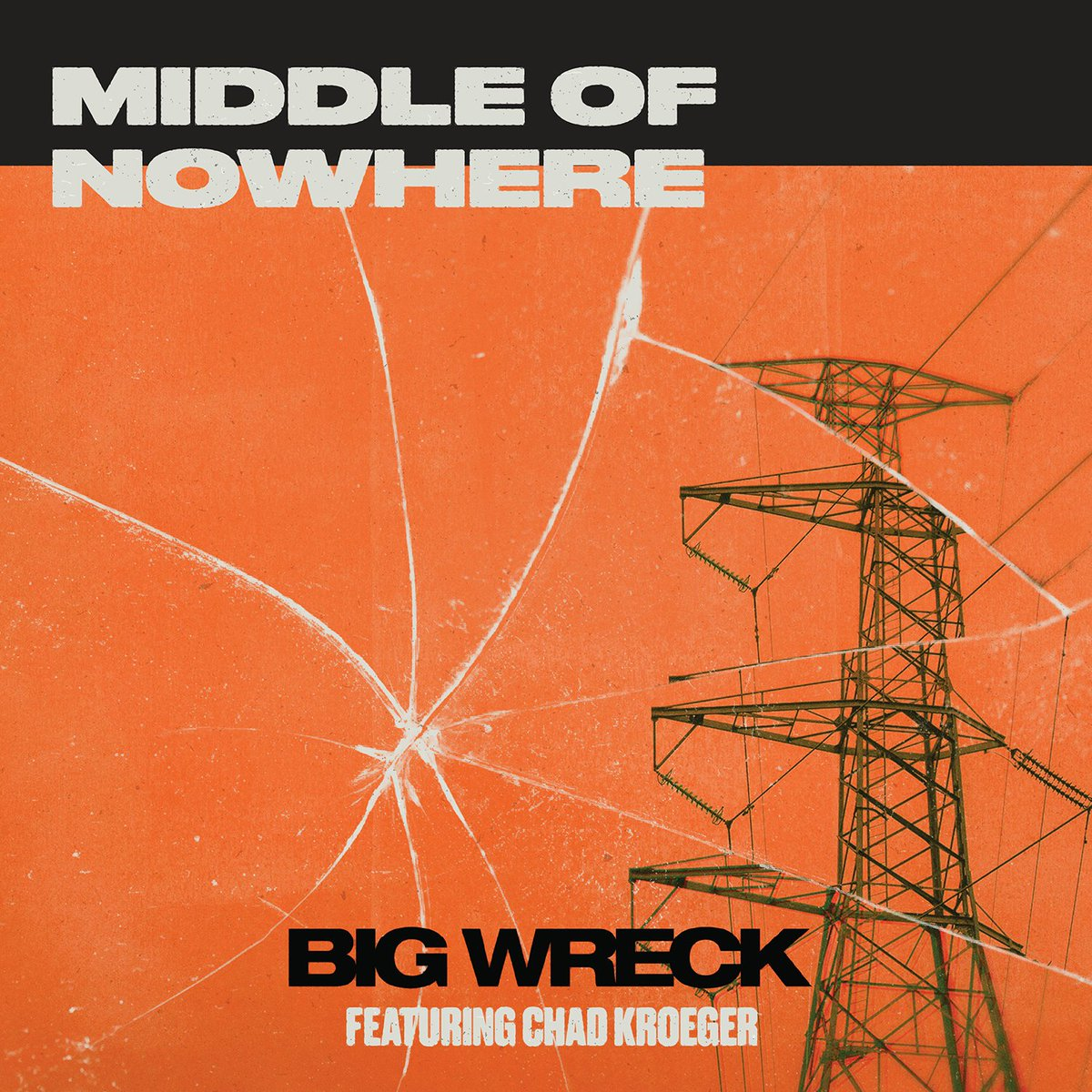 BIG WRECK and CHAD KROEGER single 2021 middle of nowhere