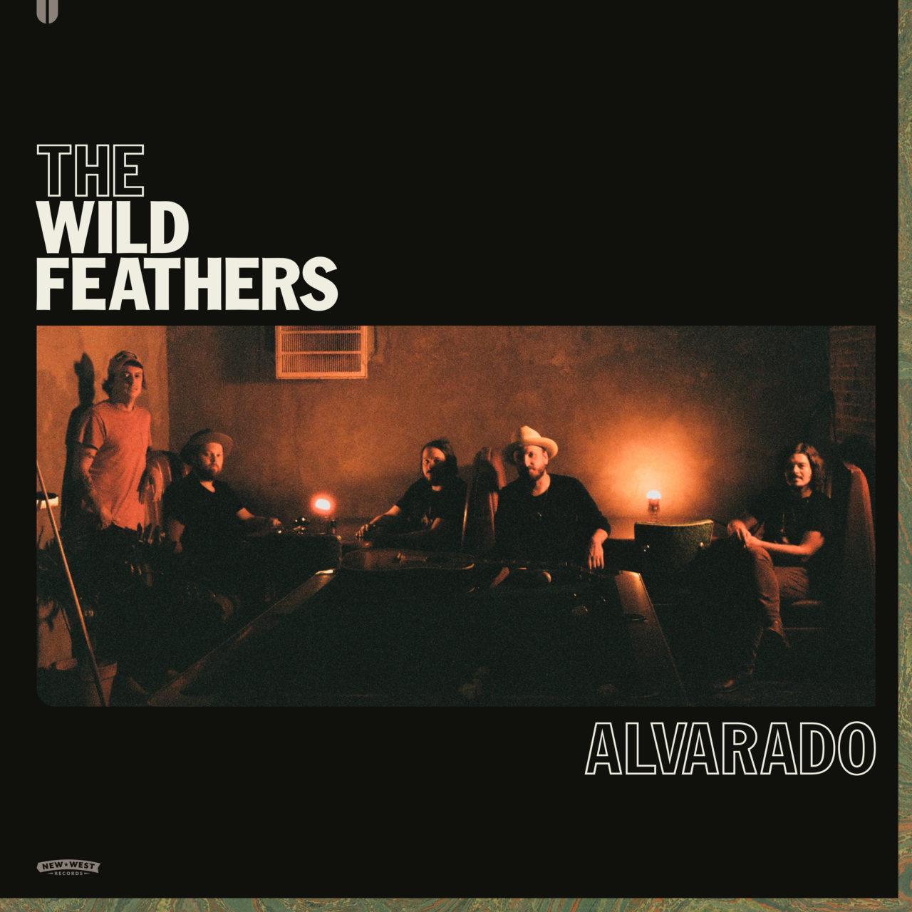 """The Wild Feathers 2021 album """"Alvarado"""" cover"""