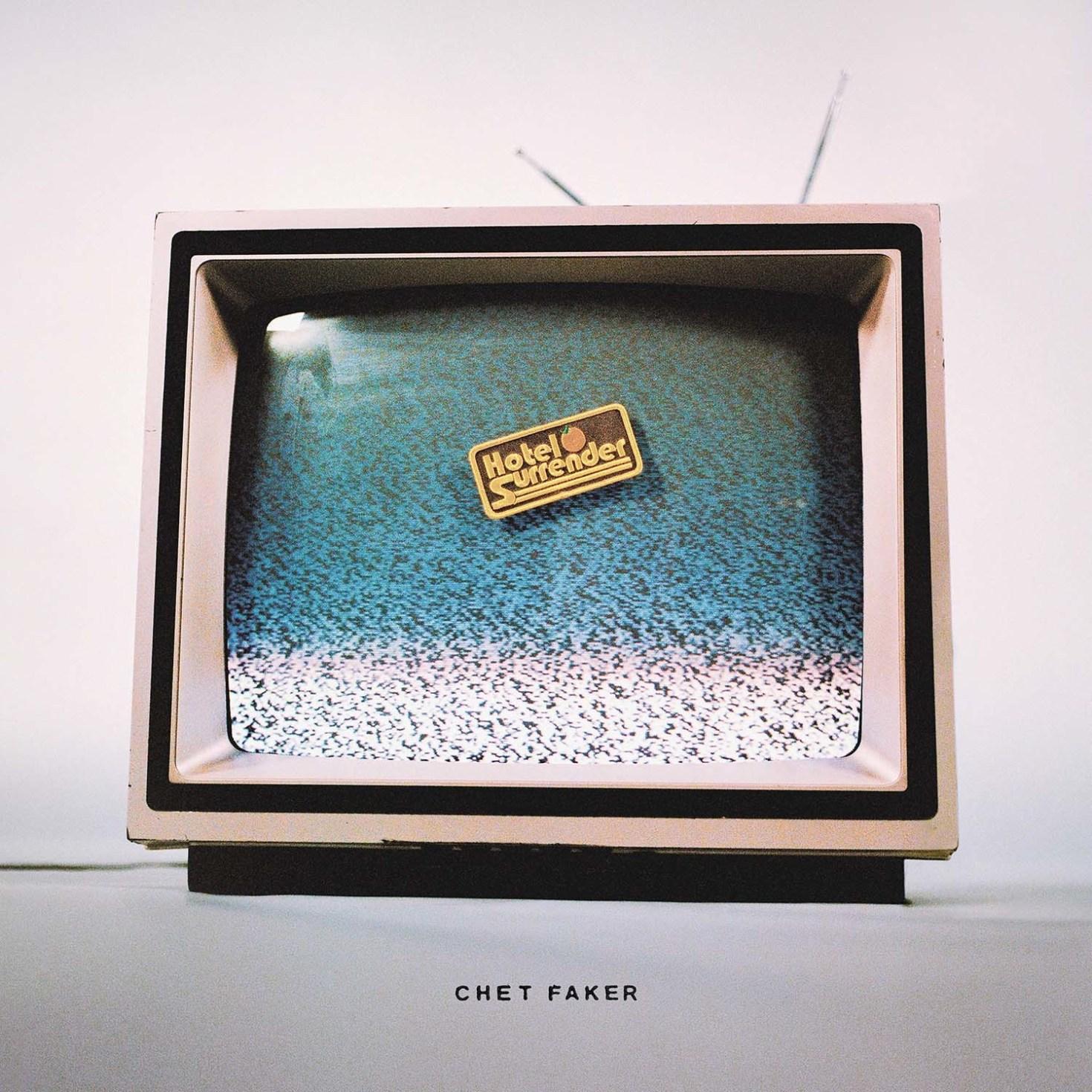 """Chet Faker  2021 Album """"Hotel Surrender"""" cover art"""