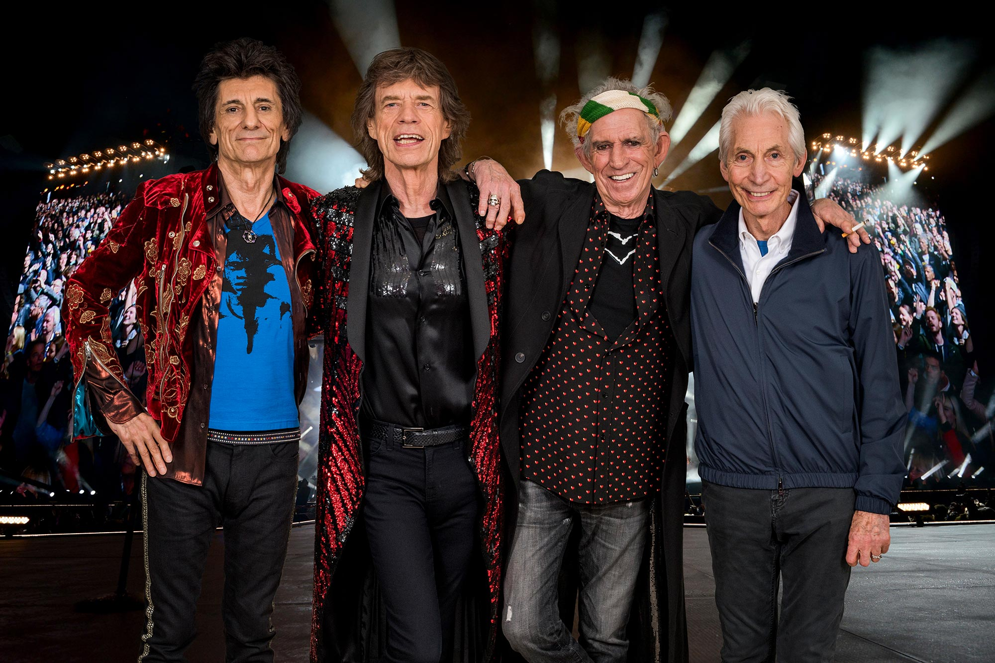 The Rolling Stones 2021 tour photo