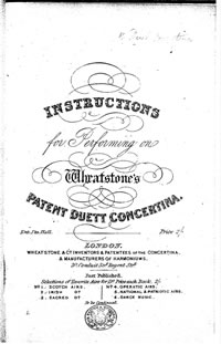 Instruction Manuals for the English, Anglo, and Duet