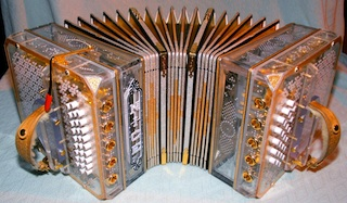 It's a tranparent concertina, neat.