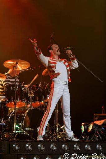 308A9258 - Freddie Mercury revit le temps d'une soirée à la salle Pleyel avec One night of Queen