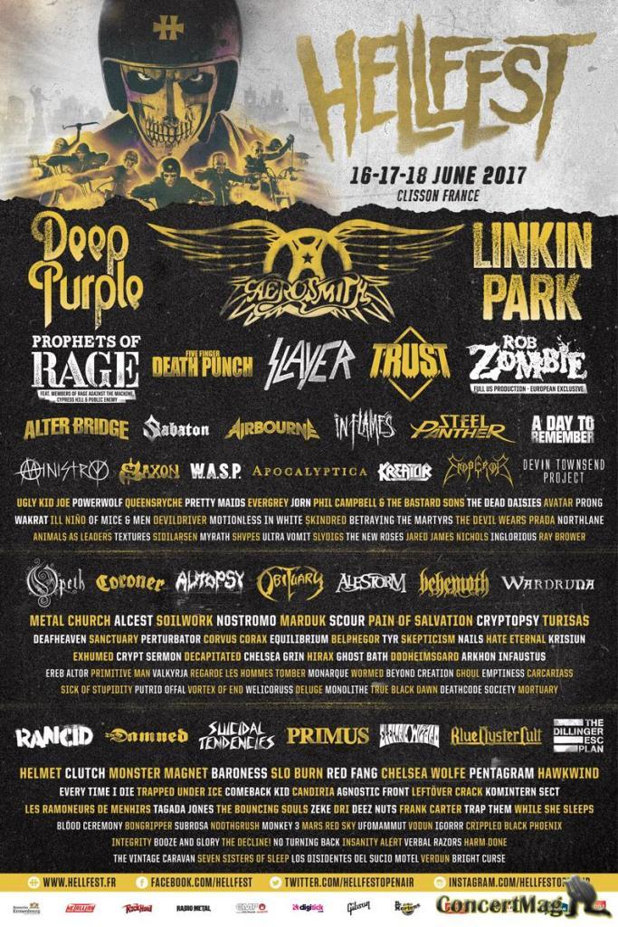 poster full line up web 683x1024 - Festival Hellfest 2017, une virée en enfer