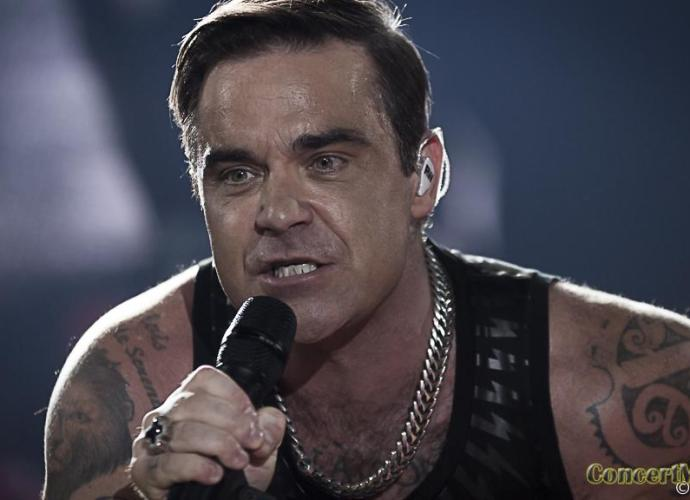 Robbie 20 - Robbie Williams fait le show à l'Accor Hôtels Arena