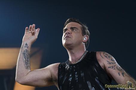 Robbie 9 - Robbie Williams fait le show à l'Accor Hôtels Arena