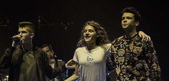 IMG 4123 1 e1522346796501 - Du talent et du punch sur la scène de l'Olympia avec Lou, Evan et Marco