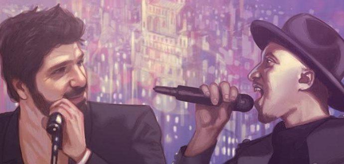 """Patrick Fiori Soprano Chez Nous 1 e1520953675506 - Patrick Fiori et Soprano réuni dans le clip de """"Chez nous (Plan d'Aou, Air Bel)"""""""