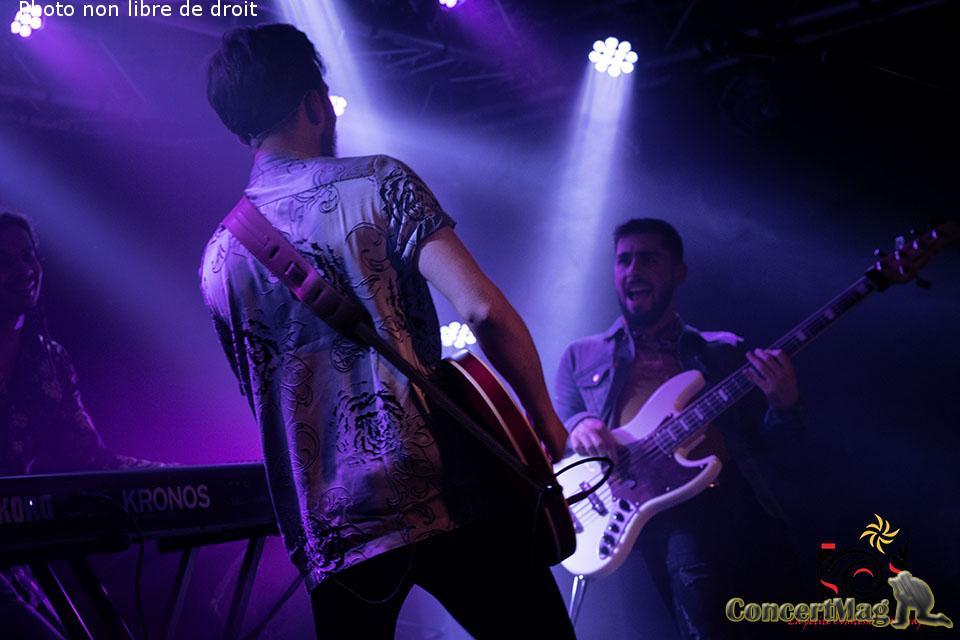 photo 50 1 - ROTTERDAMES : une Release party aux airs de ballade citadine dans un univers pop-rock (La Boule Noire 31 janvier 2019)