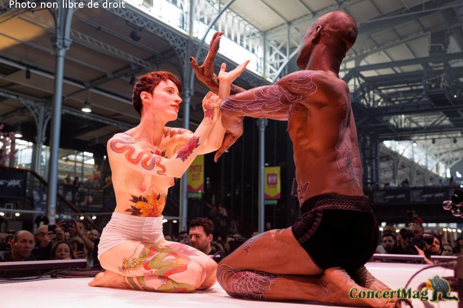 308A5989 DxO - PARIS Capitale du Tatouage durant 3 jours à la Grande Halle de La Villette