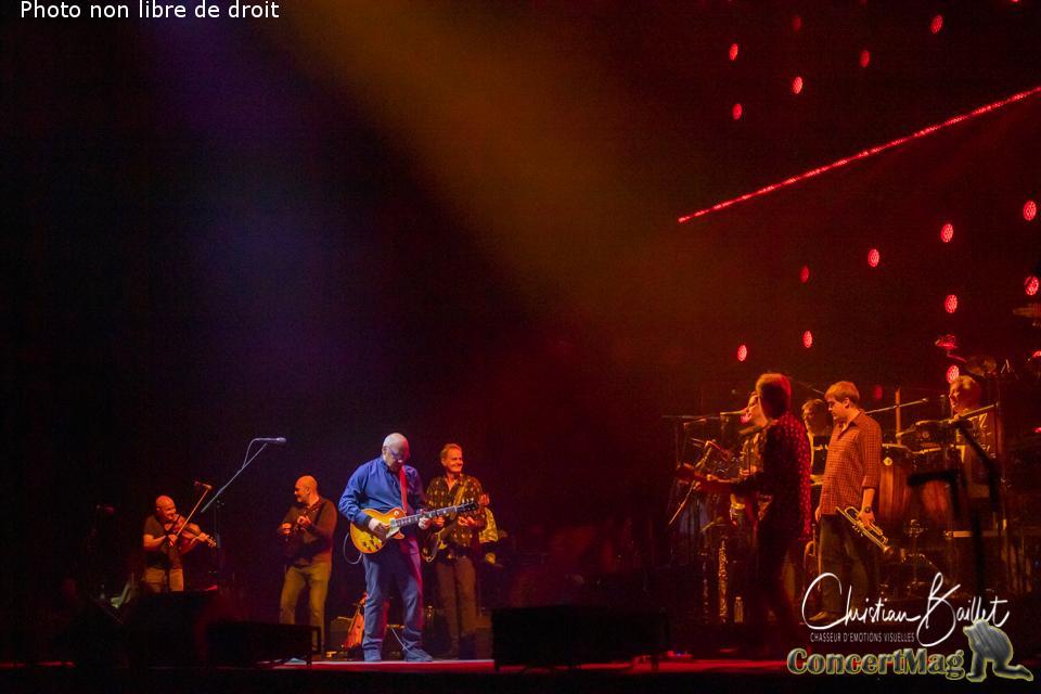 Christian Baillet Paris 2019 Mark Knopfler AccorHotels Arena 5 - Mark Knopfler en concert à Bercy, The Sultan Of Swing, l'un des derniers «guitare héros» !