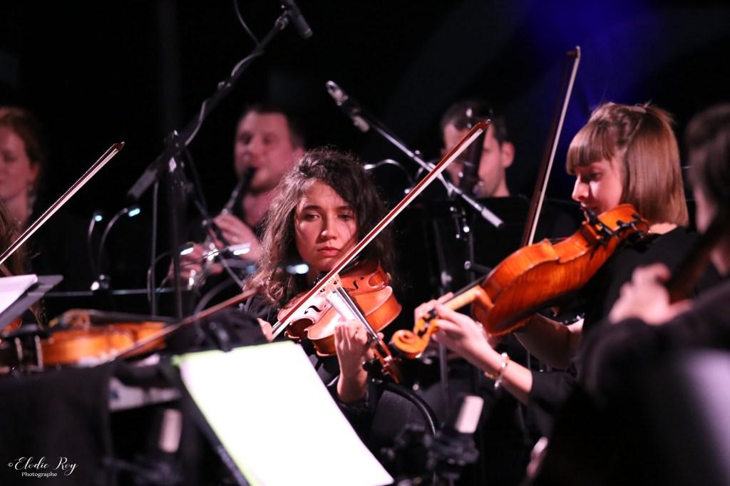 FionaMonbet ElodieRoy LaCigale 30102019 5 1024x682 - Laura Monbet - Orchestre de Chambre et Quintet de Jazz - La Cigale - 30/10/2019