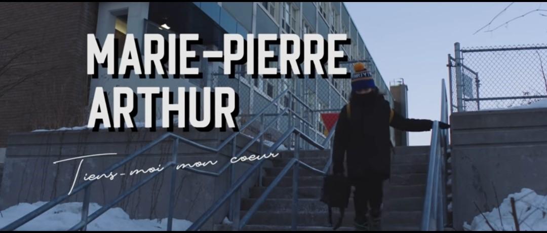 """thumbnail Screenshot 20200309 192819 - """"Tiens-moi mon coeur"""", le nouveau clip de Marie-Pierre Arthur"""