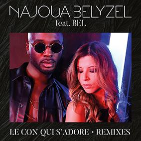 """thumbnail SINGLEcover Le con qui sadore - Najoua Belyzel s'associe à Bel dans """"Le con qui s'adore"""""""