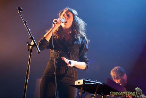 Leila Martial 3 - Anne Pacéo, release party au Café de la danse