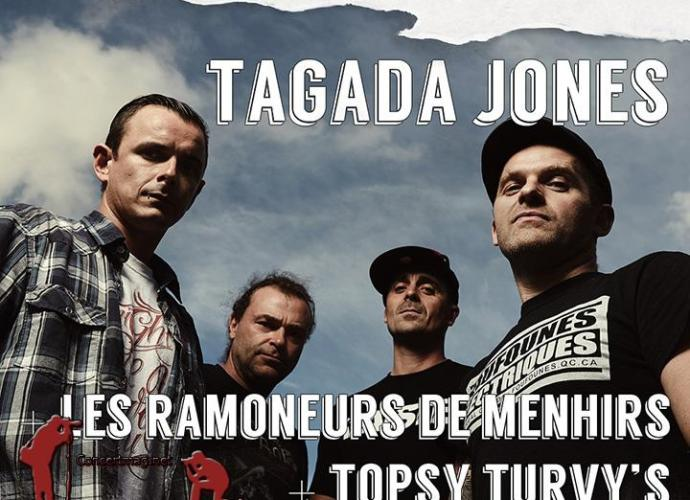 banniere26 - Topsy Turvy's + Les ramoneurs de Menhirs + Tagada Jones au Diff'art de Parthenay