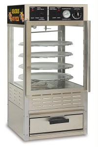 Combo Pizza Oven Warmer & Display Cabinet