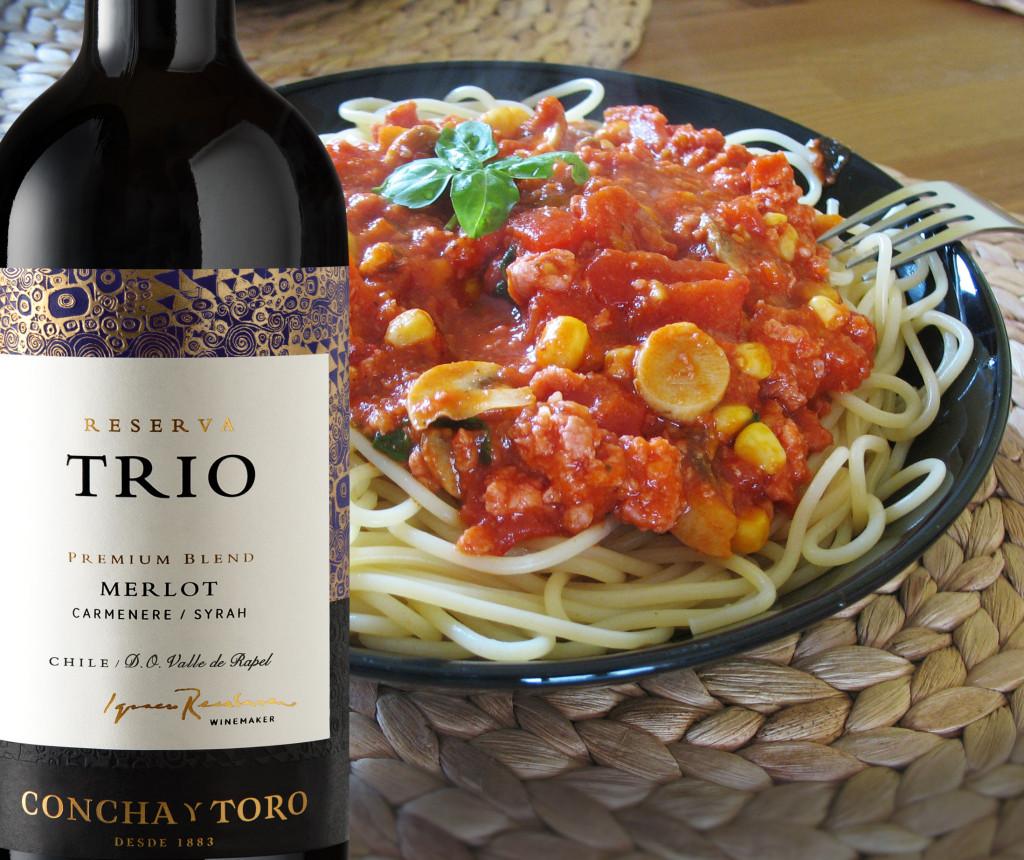Cocina italiana y vino  Concha y Toro